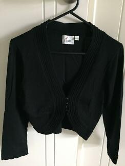 ripe brand cardigan, black, medium.